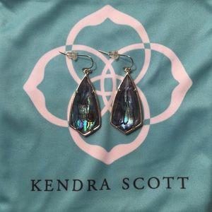 Carla abalone Kendra Scott earrings